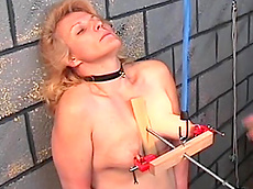 blonde, mature, pain, fat, rope, domination