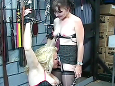 stockings, chubby, pain, licking, rope, domination