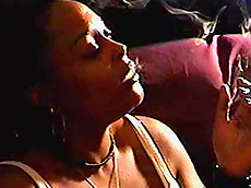 ebony, smoking, cigarette, cigar, fatty