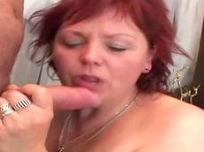 Ryan, Baby - redhead, toys, fuck, hardcore, HD, fatty, sofa