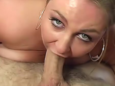 Steven French, Hillary Hooters - blowjob, POV, creampie, fat, hardcore, tits