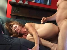 Misty Gold, Rod - blowjob, riding, redhead, creampie, hardcore, fatty